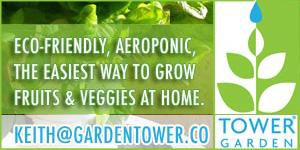 Garden Tower - aeroponic gardening system