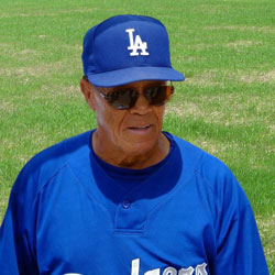 Maury Wills in 2009. Photo from Wikipedia